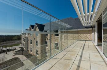 Capstone Care Walshaw Hall – covered balcony