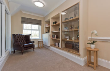 Capstone Care Walshaw Hall – sitting room