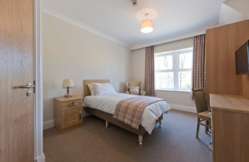 Capstone Care Walshaw Hall – private bedroom