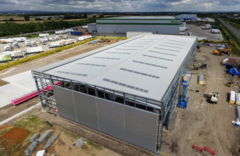 Haydock Commercial Vehicles site view side angle