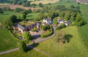 Viscount Homes - Warmingham Grange aerial photo