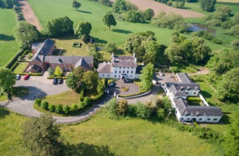 Viscount Homes - Warmingham Grange aerial photo 2