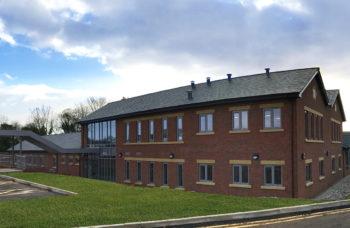 Hospice of Good Shepherd, Cheshire - rear exterior