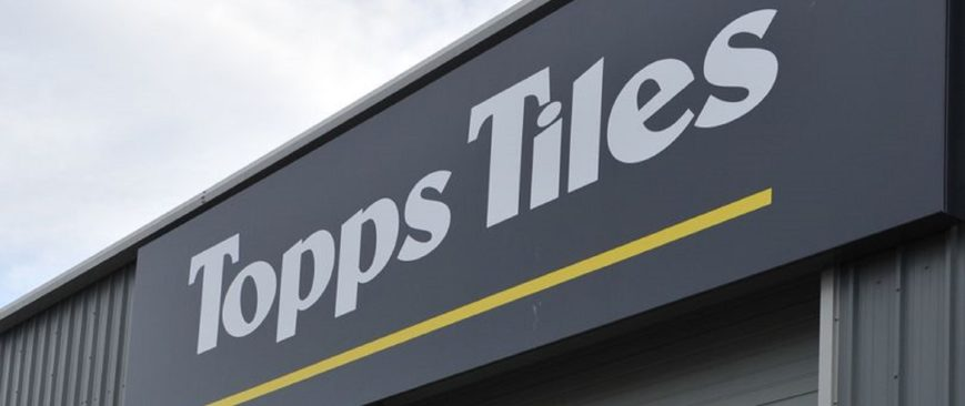 Topps Tiles, Various locations