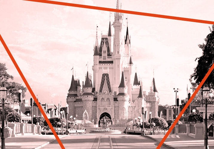 Samuel Dawn's favourite building - The Cinderella Castle, Walt Disney World