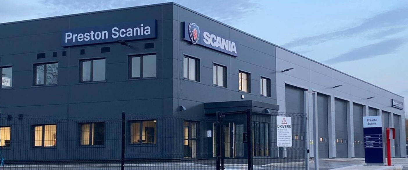 Jones Melling was appointed by Haydock Commercial Vehicles as the employer's agent on the redevelopment of its Scania service centre in Preston.