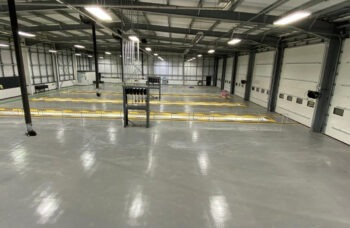 Haydock Commercial Vehicles Preston Scania Service Centre - Internal service bays
