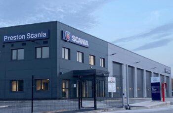 Scania Service Centre Preston entrance